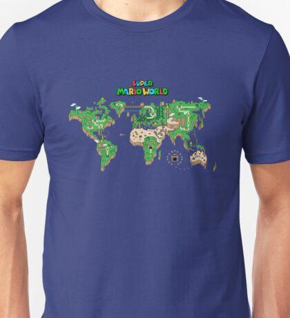 SMW Super Mario World Map Unisex T-Shirt
