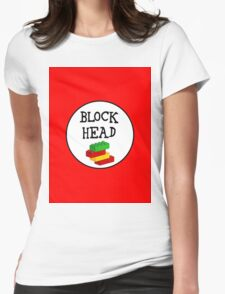 BLOCK HEAD Womens Fitted T-Shirt