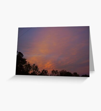 Sherbert Skies Greeting Card