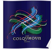 Colquhoun Tartan Twist Poster