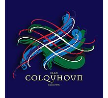 Colquhoun Tartan Twist Photographic Print