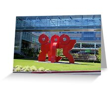 AOL World Headquarters? Greeting Card
