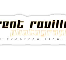 Trent Rouillon Photography Business Shirt - White Sticker