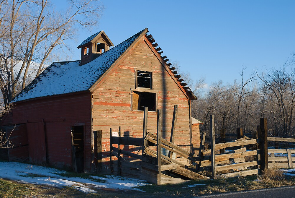 Old Barn 2 by bluerabbit