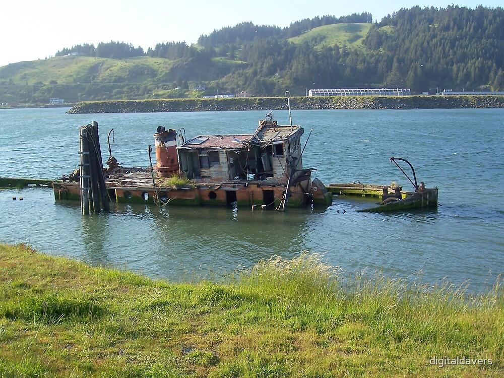 Shipwreck by digitaldavers