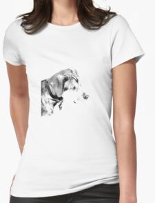 Over Exposed Womens Fitted T-Shirt