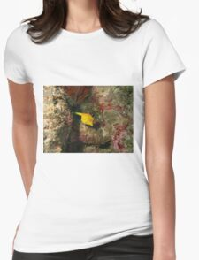 Yellow Boxfish Womens Fitted T-Shirt