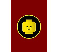 MINIFIG HAPPY FACE Photographic Print