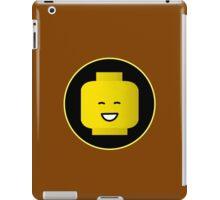MINIFIG HAPPY FACE iPad Case/Skin