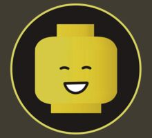 MINIFIG HAPPY FACE by ChilleeW