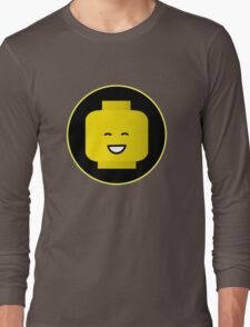 MINIFIG HAPPY FACE Long Sleeve T-Shirt