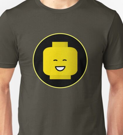 MINIFIG HAPPY FACE Unisex T-Shirt