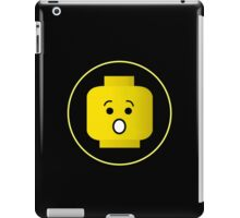 MINIFIG SHOCKED FACE iPad Case/Skin