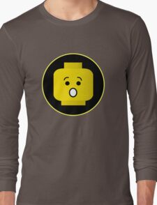 MINIFIG SHOCKED FACE Long Sleeve T-Shirt