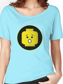 MINIFIG SHOCKED FACE Women's Relaxed Fit T-Shirt