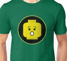 MINIFIG SHOCKED FACE Unisex T-Shirt