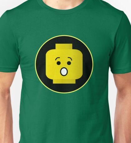 MINIFIG SHOCKED FACE Unisex T-Shirt