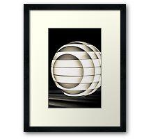 Sphere Moves  Framed Print