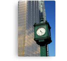 City clock Canvas Print