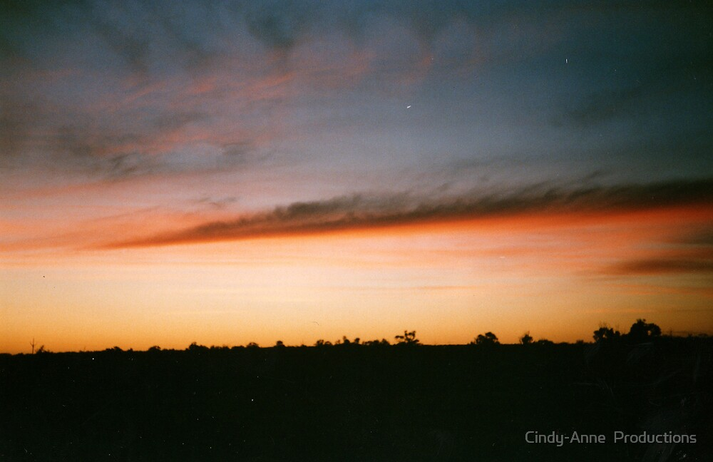 Riverland Sunset by Cindy-Anne  Productions