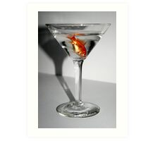 Fish Cocktail Art Print