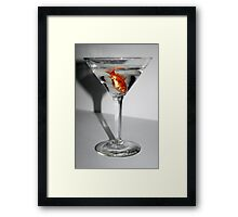 Fish Cocktail Framed Print
