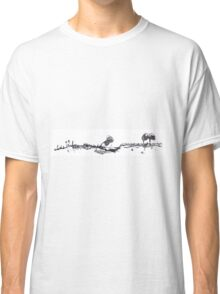 0019 - Brush and Ink - Old Farmstead Classic T-Shirt