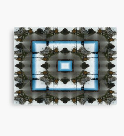 Streetscape Abstract Canvas Print