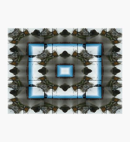 Streetscape Abstract Photographic Print