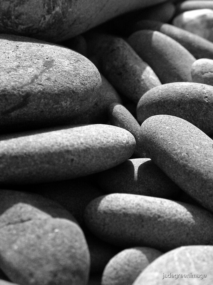 Pebbles Up Close by jadegreenimage