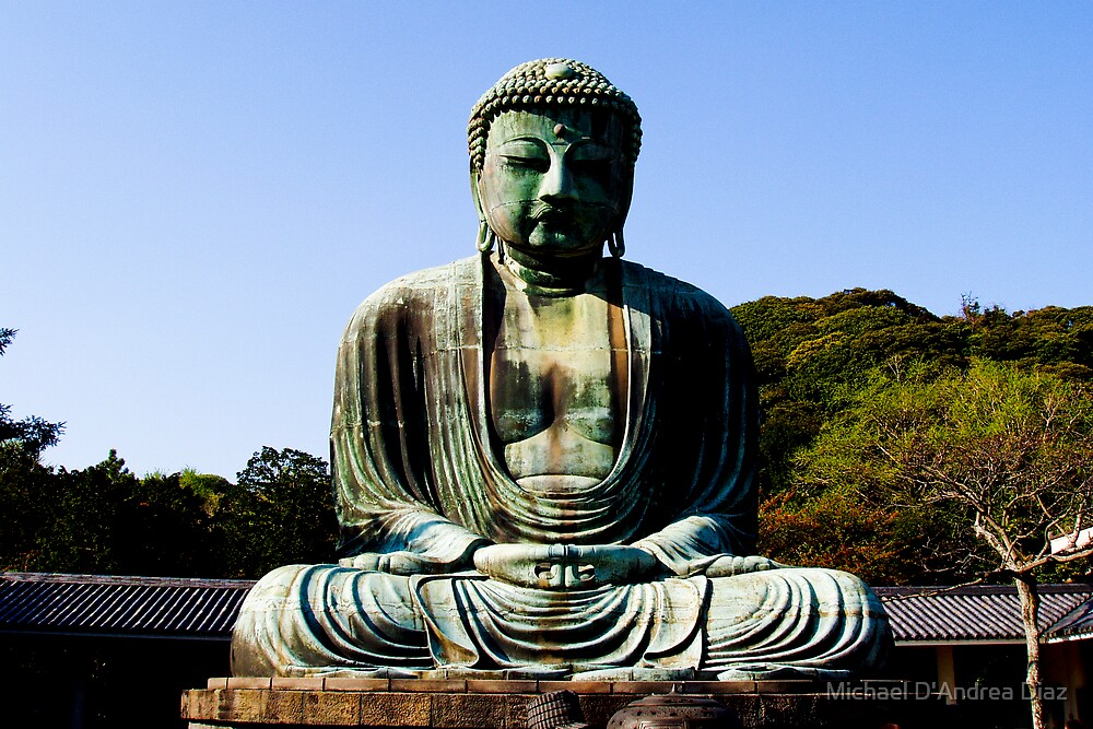 Buddha of Kamakura  by Michael D'Andrea Diaz