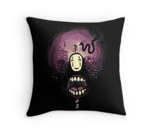 Spirit nightmare (chihiro) Throw Pillow