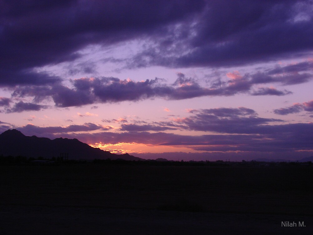 Purple Sky by Nilah M.