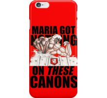 The Armored Titan - These Canons iPhone Case/Skin