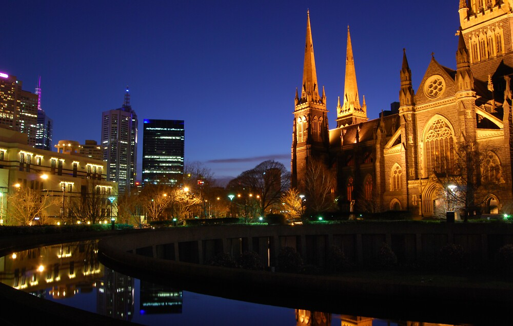 St Patrick's Cathedral Melbourne by Grant McCall