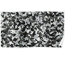 Military winter colors Poster
