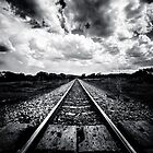 Train Track - On the track to somewhere  by IamPhoto