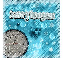 Clock is ticking , Happy New Year Photographic Print