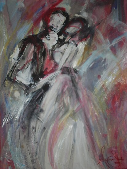 Shall we dance? by Anthea  Slade