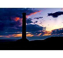 """Sunset Storm at Black Rock"" Photographic Print"