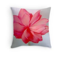 Popping Pinks Throw Pillow