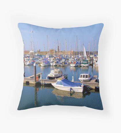 Whitehaven Marina Throw Pillow