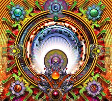 Hendrix Mandala  by paxempire