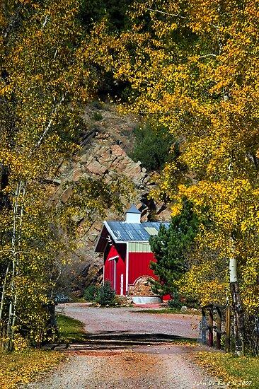 Fall On the Farm by John  De Bord Photography