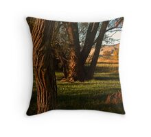 Natures Composition Throw Pillow