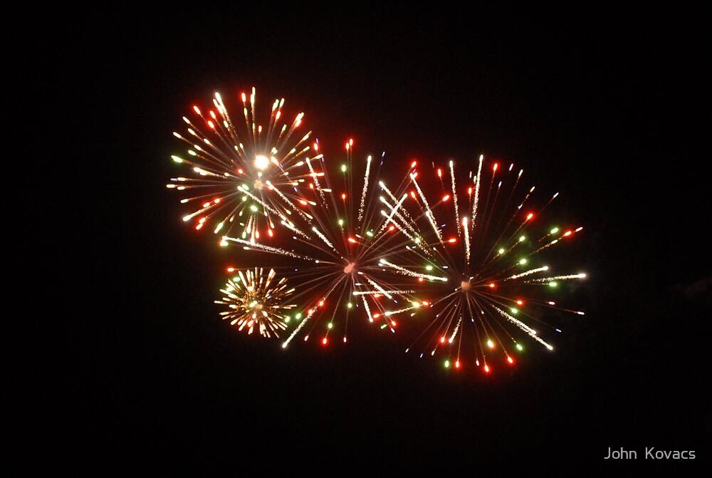 Fireworks No2 by John  Kovacs