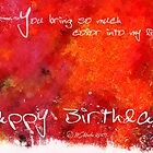 You add Color-Birthday Card by William Martin