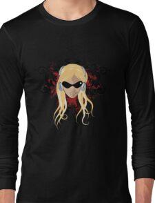 blond face Long Sleeve T-Shirt