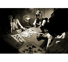 Hold'em... or not! Photographic Print