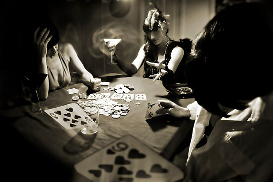 Hold'em... or not! by Lee Burgess
